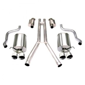 Corsa® - Sport™ 304 SS Cat-Back Exhaust System with Quad Rear Exit