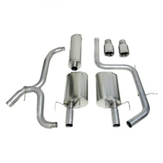 Corsa® - Sport™ 304 SS Cat-Back Exhaust System with Split Rear Exit