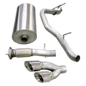 Corsa® - Sport™ 304 SS Cat-Back Exhaust System with Dual Exit