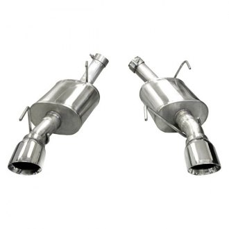 Corsa® - Xtreme™ 304 SS Axle-Back Exhaust System with Split Rear Exit