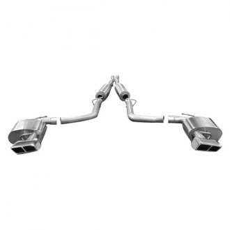 Corsa® - Xtreme™ 304 SS Cat-Back Exhaust System with Quad Rear Exit