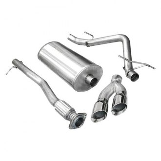 Corsa® - Sport™ 304 SS Cat-Back Exhaust System with Dual Side Exit