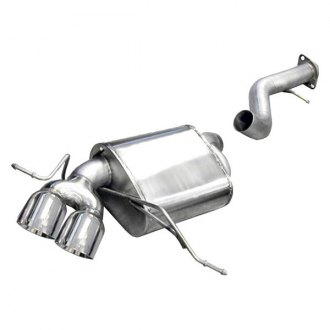 Corsa® - Sport™ 304 SS Axle-Back Exhaust System with Dual Rear Exit