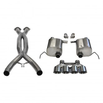 Corsa® - Sport™ 304 SS Exhaust System with Quad Rear Exit