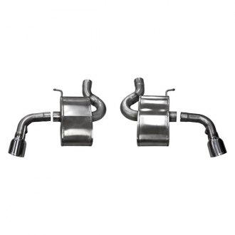 Corsa® - Sport™ 304 SS Axle-Back Exhaust System with Split Rear Exit