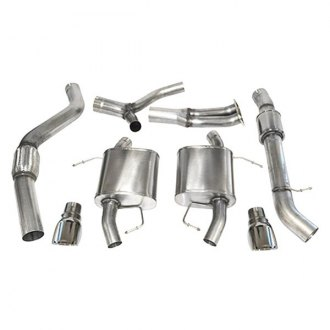 Corsa® - Sport™ 304 SS Exhaust System with Split Rear Exit