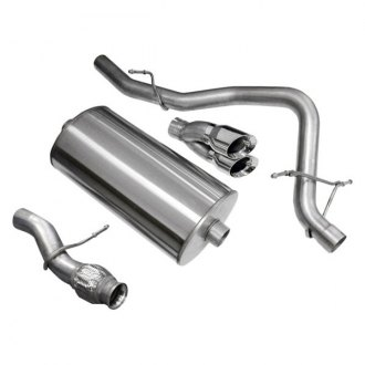 Corsa® - Sport™ 304 SS Cat-Back Exhaust System with Dual Rear Exit