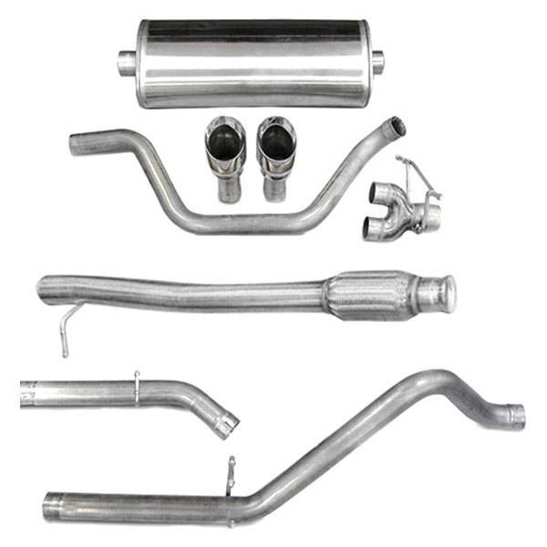 Corsa® - Touring™ 304 SS Cat-Back Exhaust System