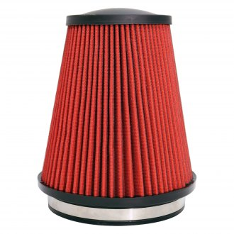 "Corsa® - DryFlow 3D Round Tapered Red Air Filter (6"" F x 7.5"" B x 8"" H)"