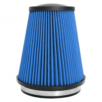 "Corsa® - MaxFlow 5 Layer Oiled Round Tapered Blue Air Filter (6"" F x 7.5"" B x 8"" H)"