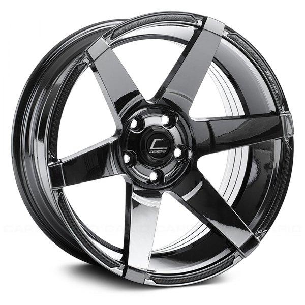 Cosmis Racing S1 Wheels Black Chrome Rims