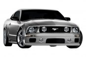 Couture® - Demon 2 Style Front Bumper Cover
