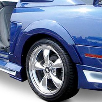 Couture® - Demon Style Rear Fender Flares (Unpainted)