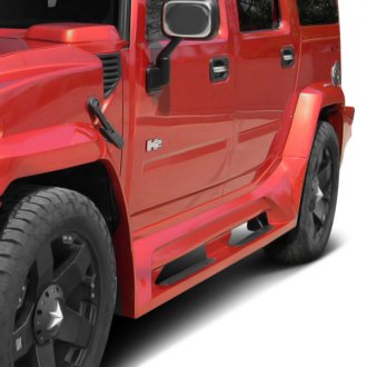 Couture® - Vortex Style Wide Body Side Skirts (Unpainted)