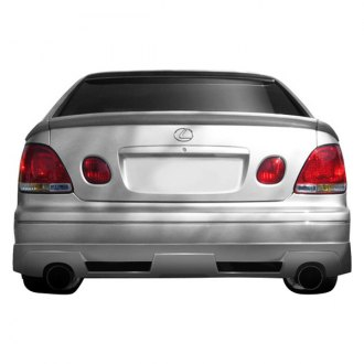 Couture® - Vortex Style Rear Bumper Lip Under Spoiler Air Dam (Unpainted)