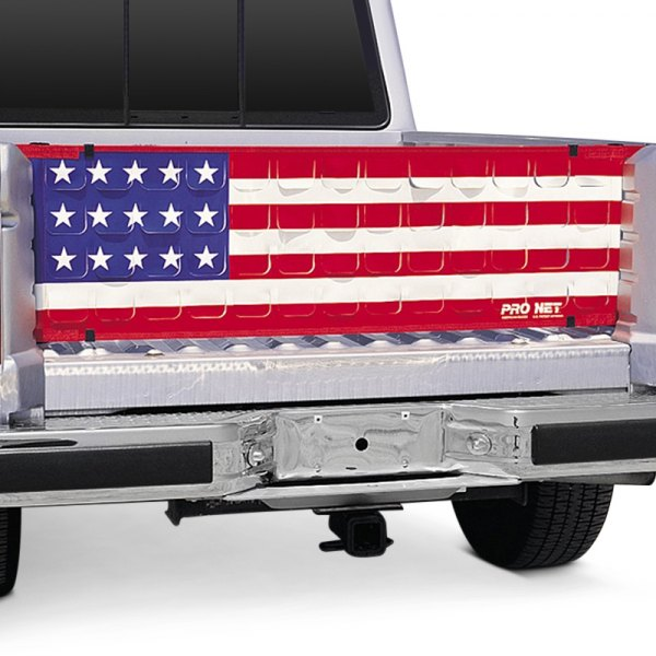 Image may not reflect your exact vehicle! Covercraft® - Pro Net™ Pro Flow™ Flap-Vented Tailgate Net