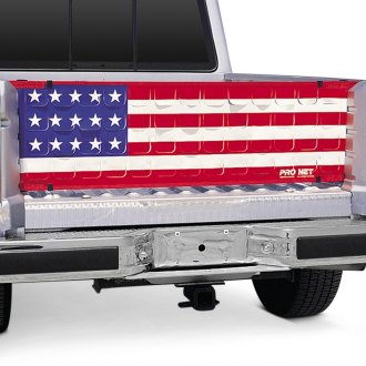 Image may not reflect your exact vehicle! Covercraft® - Pro Flow™ Flap-Vented Tailgate Net