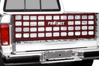 Image may not reflect your exact vehicle! Covercraft® - Pro Net™ Original Performance Red Tailgate Net