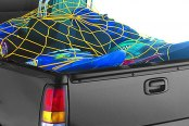 Image may not reflect your exact vehicle! Covercraft® - Spidy Gear™ Yellow Bed Webb