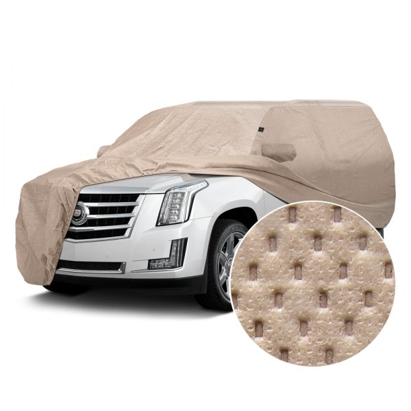 Image may not reflect your exact vehicle! Covercraft® - Block-It™ 380 Custom Taupe Car Cover