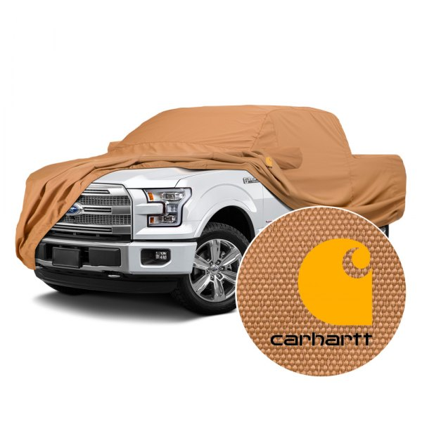 Covercraft® - Carhartt Brown Work Car Cover