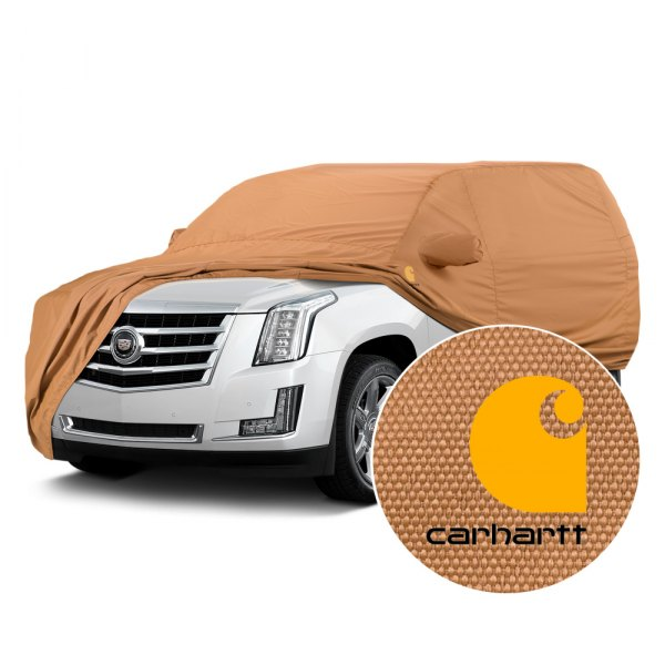 Covercraft® - Carhartt Brown Car Cover
