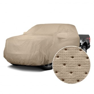 Covercraft® - Dustop™ Taupe Custom Cab Area Cover