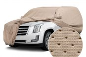 Covercraft® - Dustop™ Custom Taupe Car Cover