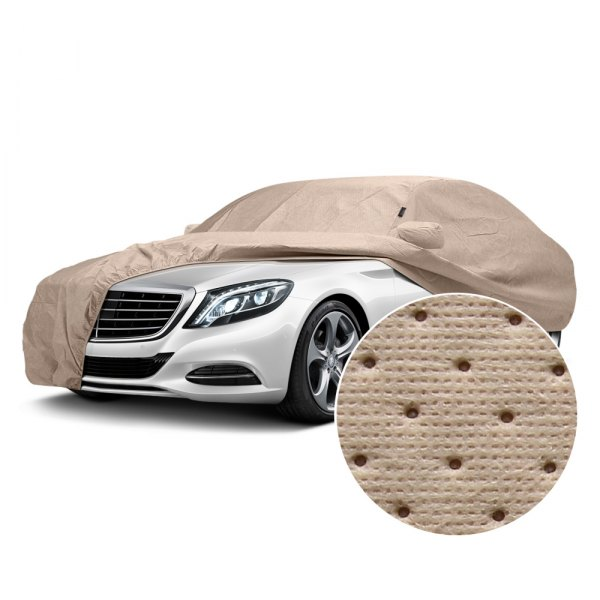 Image may not reflect your exact vehicle! Covercraft® - Dustop™ Custom Taupe Car Cover