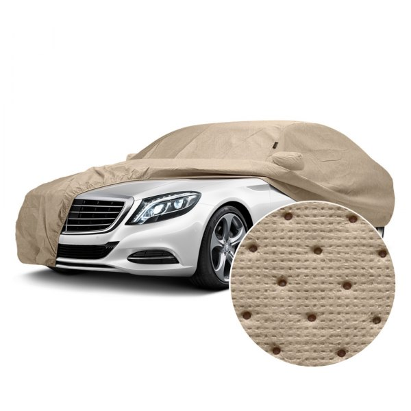 Covercraft® - Dustop™ Taupe Custom Car Cover