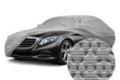 Image may not reflect your exact vehicle! Covercraft® - Evolution™ Custom Gray Car Cover