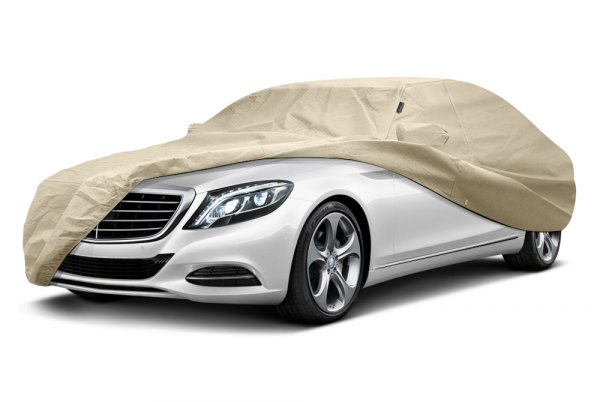Image may not reflect your exact vehicle! Covercraft® - Evolution™ Custom Tan Car Cover