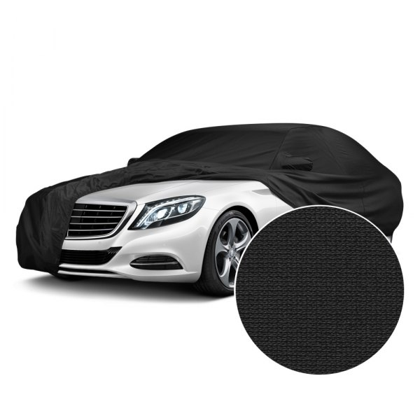 Covercraft® - Fleeced Satin Black Custom Car Cover