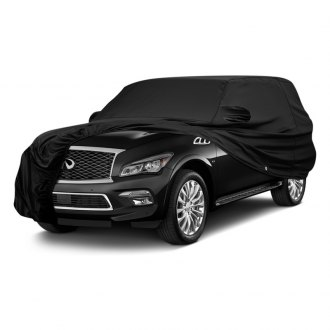 Covercraft® - Fleeced Satin Custom Black Car Cover