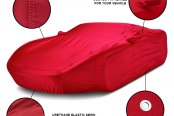 Covercraft® - Fleeced Satin Custom Car Cover Benefits