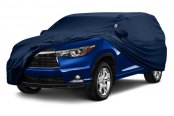 Image may not reflect your exact vehicle! Covercraft® - Form-Fit™ Custom Blue Car Cover