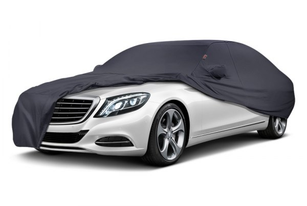 Image may not reflect your exact vehicle! Covercraft® - Form-Fit™ Custom Charcoal Gray Car Cover