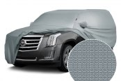 Image may not reflect your exact vehicle! Covercraft® - Form-Fit™ Custom Silver Gray Car Cover