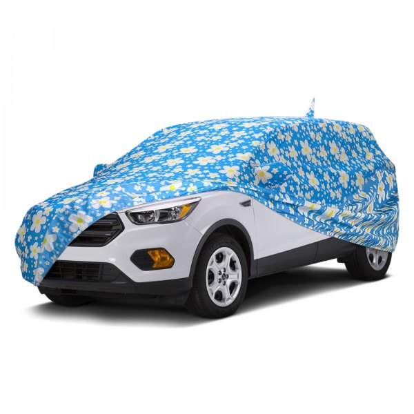Covercraft® - Grafix Series™ Daisy Blue Custom Car Cover