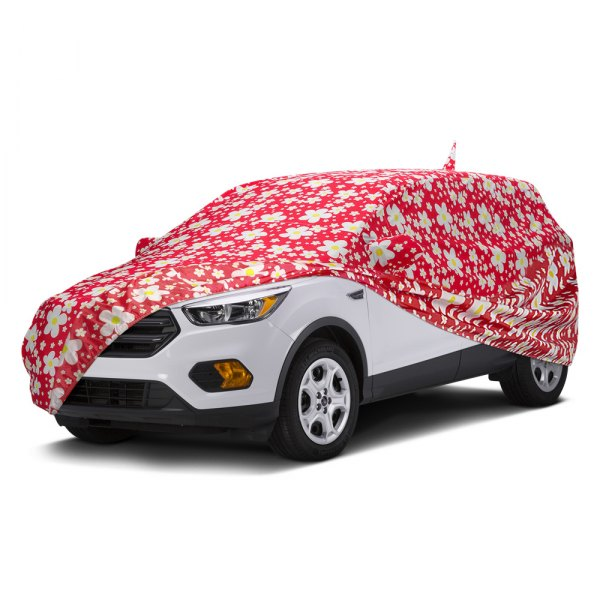 Covercraft® - Grafix Series™ Daisy Red Custom Car Cover