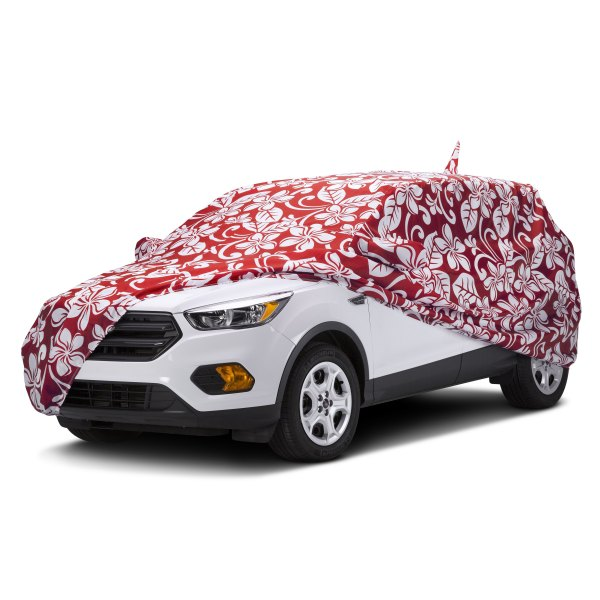 Covercraft® - Grafix Series™ Floral Red Custom Car Cover