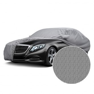 Image may not reflect your exact vehicle! Covercraft® - Polycotton Custom Gray Car Cover