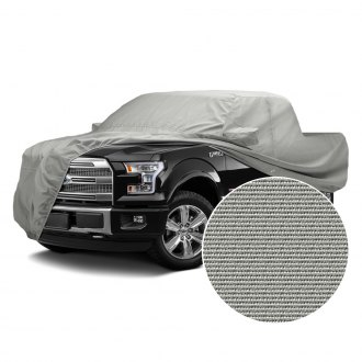 Covercraft Custom Fit Car Cover for Select Nissan Frontier Models Fleeced Satin Black FS16812F5