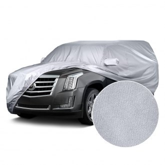 Image may not reflect your exact vehicle! Covercraft® - Reflec'tect™ Custom Silver Car Cover