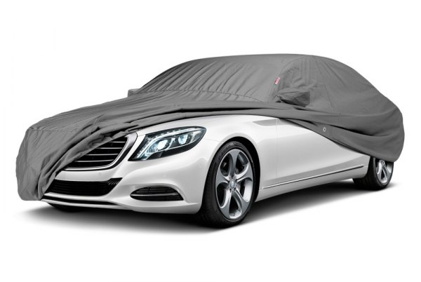 Image may not reflect your exact vehicle! Covercraft® - Sunbrella™ Custom Gray Car Cover