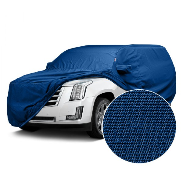 Image may not reflect your exact vehicle! Covercraft® - Sunbrella™ Custom Pacific Blue Car Cover