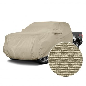 Covercraft® - Tan Flannel Custom Cab Area Cover