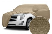 Covercraft® - Tan Flannel Custom Tan Car Cover