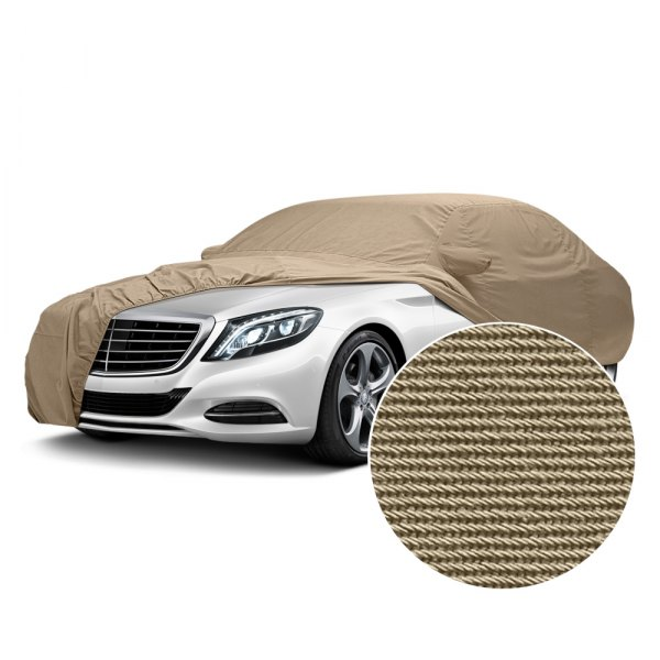 Image may not reflect your exact vehicle! Covercraft® - Tan Flannel Custom Car Cover