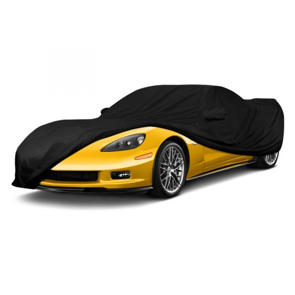 Image may not reflect your exact vehicle! Covercraft® - Ultra'Tect™ Custom Black Car Cover
